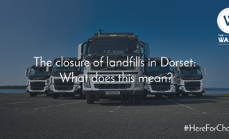 The closure of landfills in Dorset title graphic for The Waste Group, Skip Hire In Dorset