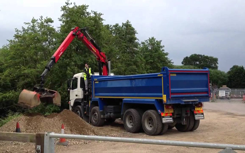 Grab Hire Lorry