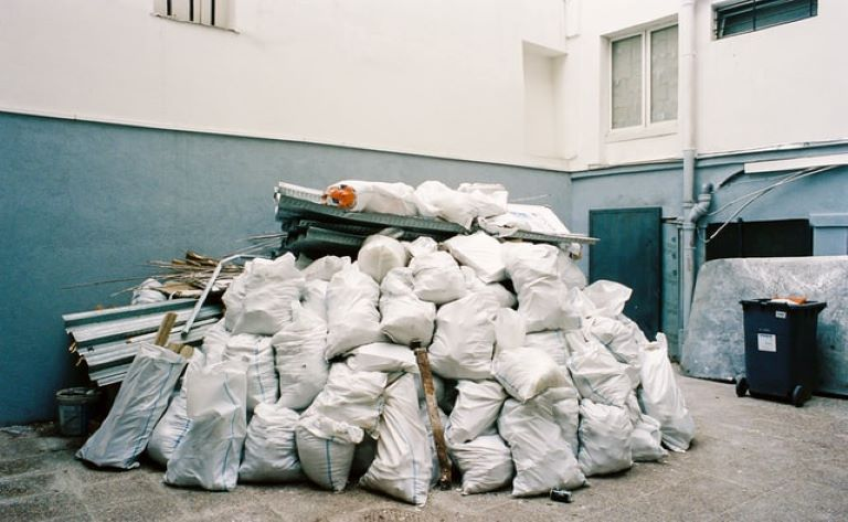Bulk waste disposal.